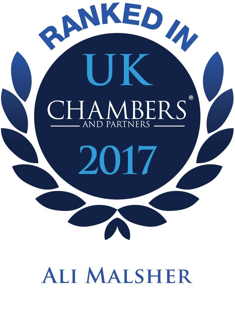 Ali malsher- chambers & Partners 2017