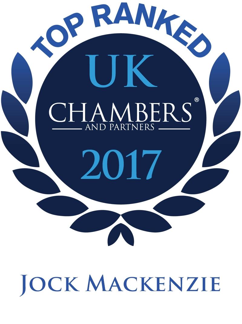 Jock mackenzie Top ranked Chambers
